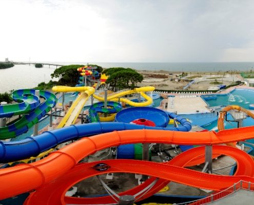 anaklia aqua park on the black sea coast 495x400 - تفلیس