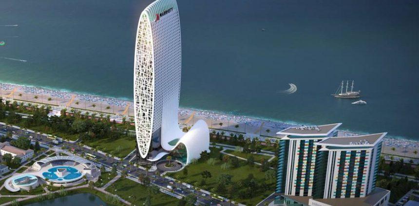 """مجموعه هتل و برج ماریوت 860x423 - پیش فروش واحدهای """"باتومی بولیوارد"""""""